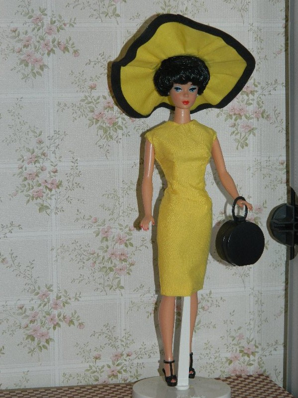Bubble cut Barbie in OOAK fashion by Lyn Scantlebury