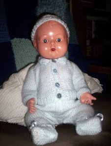 Christopher a 20 inch baby doll by Kader
