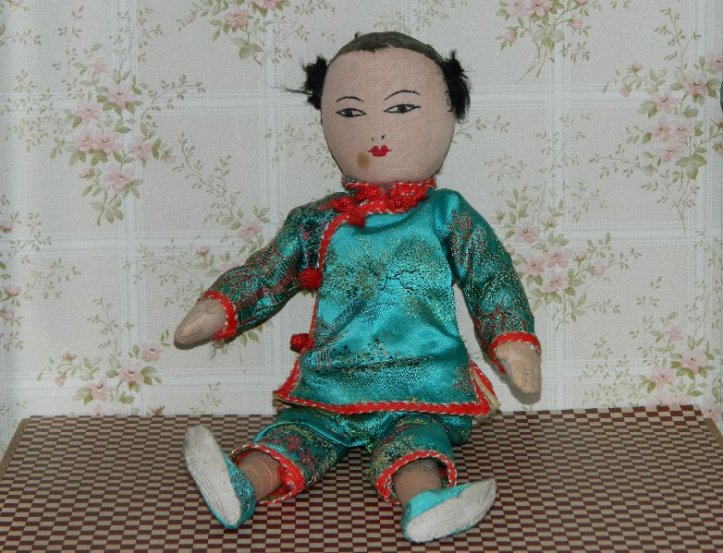 Chinese cloth mother doll