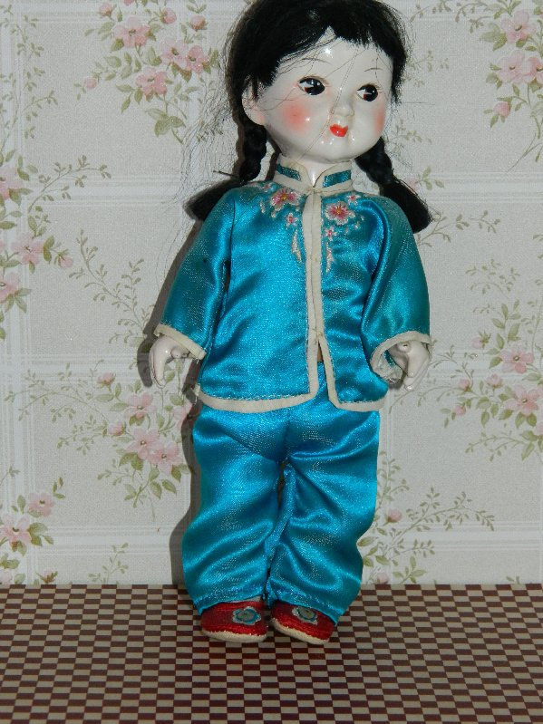 Chinese girl doll