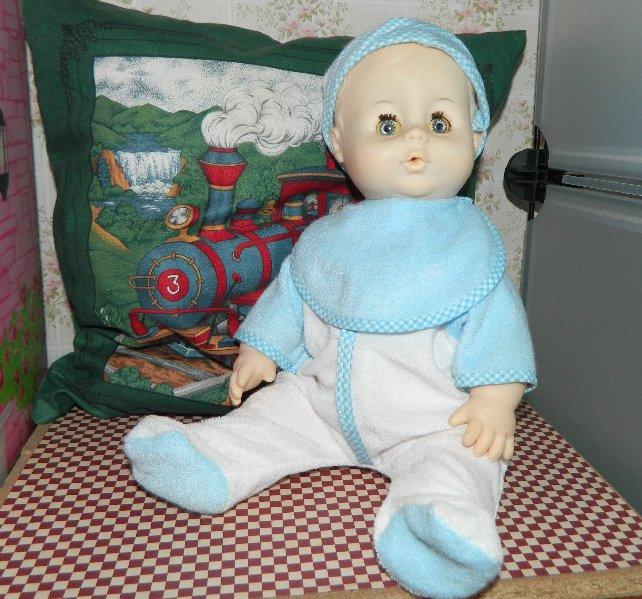 small baby boy doll
