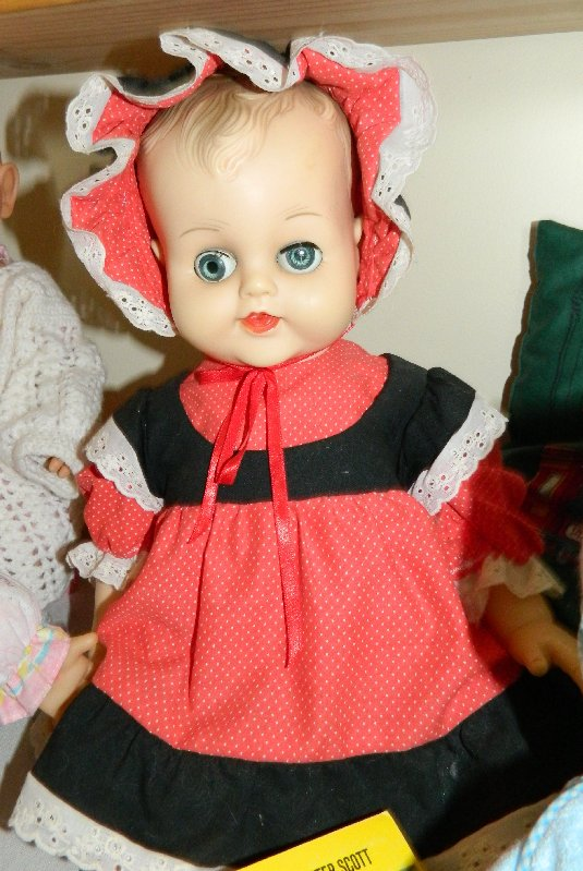 Margaret is another twenty inch baby doll.
