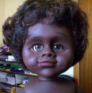 A modern Netta aboriginal doll.