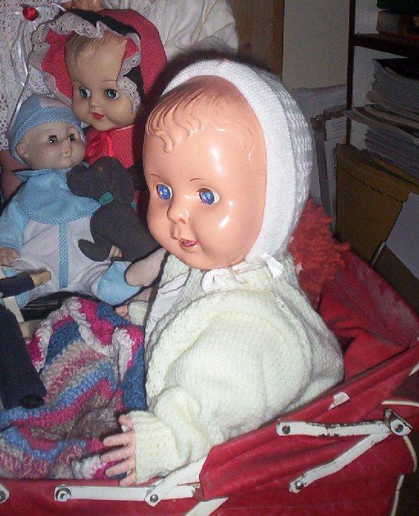60s Hard Plastic Baby Doll