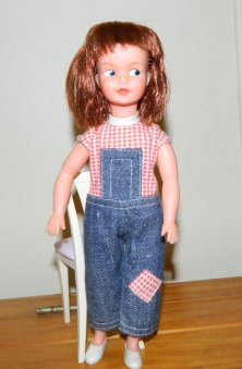 Patch in Dungarees