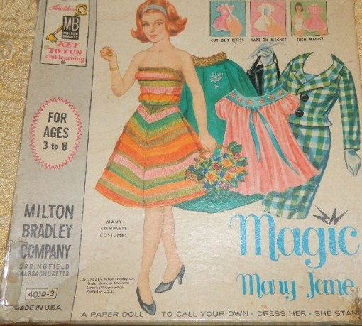 Magic Mary Jane's clothing was attached by magnets.