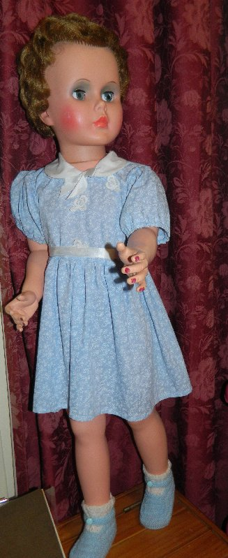 Regal doll dressed