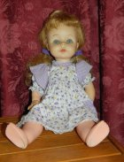 Doll marked DeeGee Canada