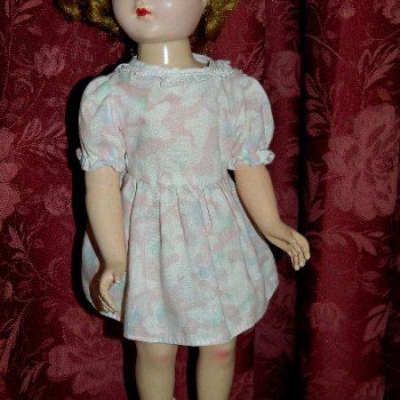 image hard plastic walking doll