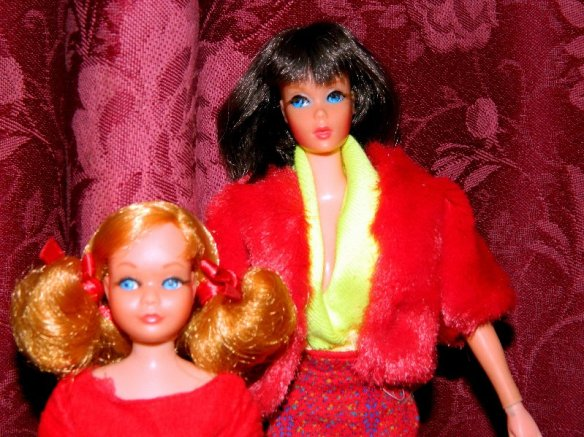 Living Barbie and Skipper