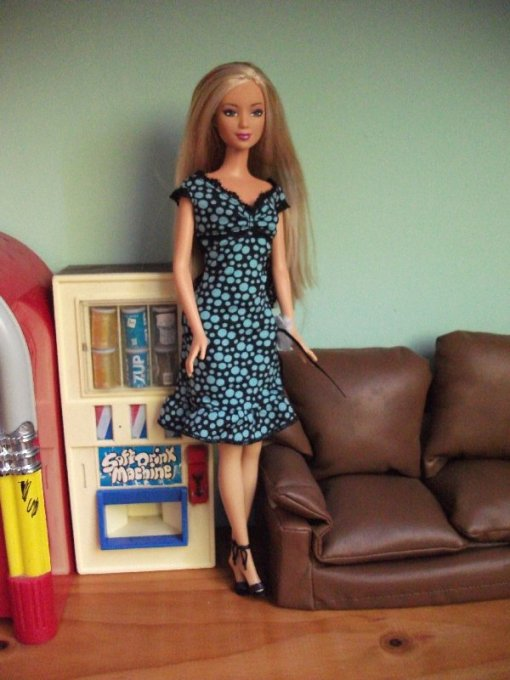 image FF Kayla blue/black dress