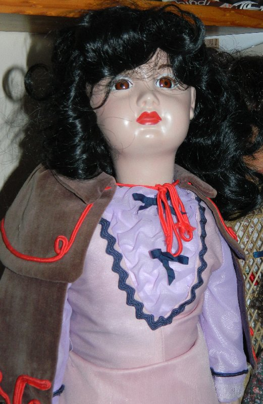 image older Italian doll