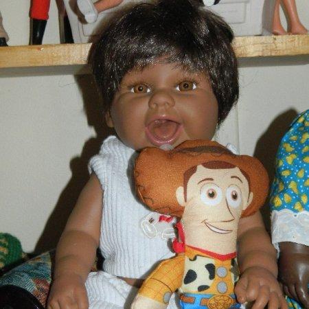 image vinyl baby doll