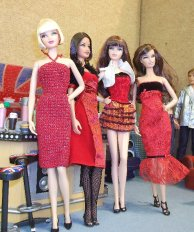 image Basics girls in red