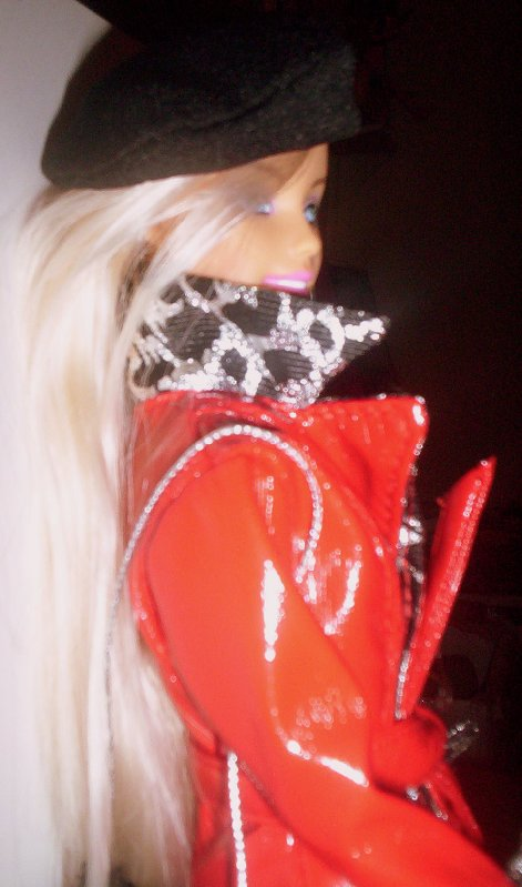 image Barbie in Mikelman fashion