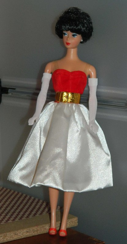 image Repro Barbie Bubblecut in Silken Flame