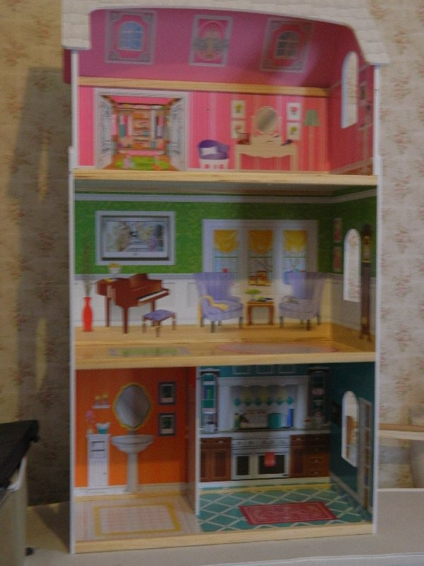 This is my Barbie sized house.