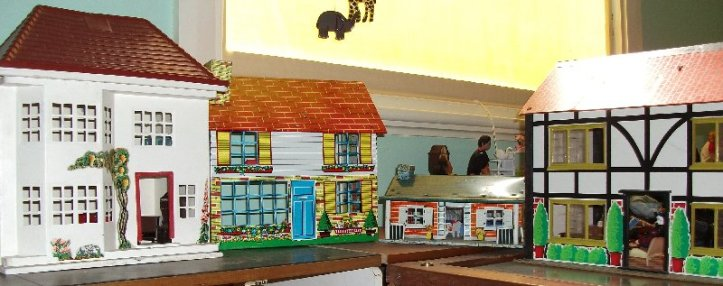 Dolls houses belonging to my sister.
