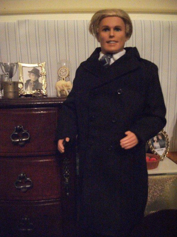 Ken doll in suit