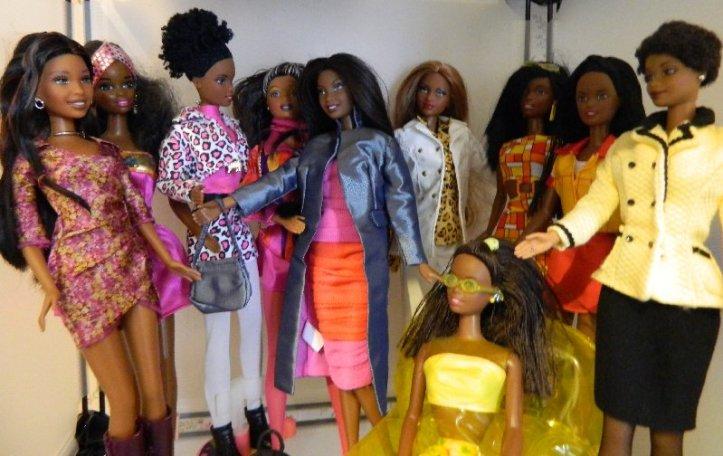 African American Barbies
