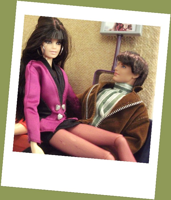 Fashion Doll Friday -Valentines Day with Natalie and Liam