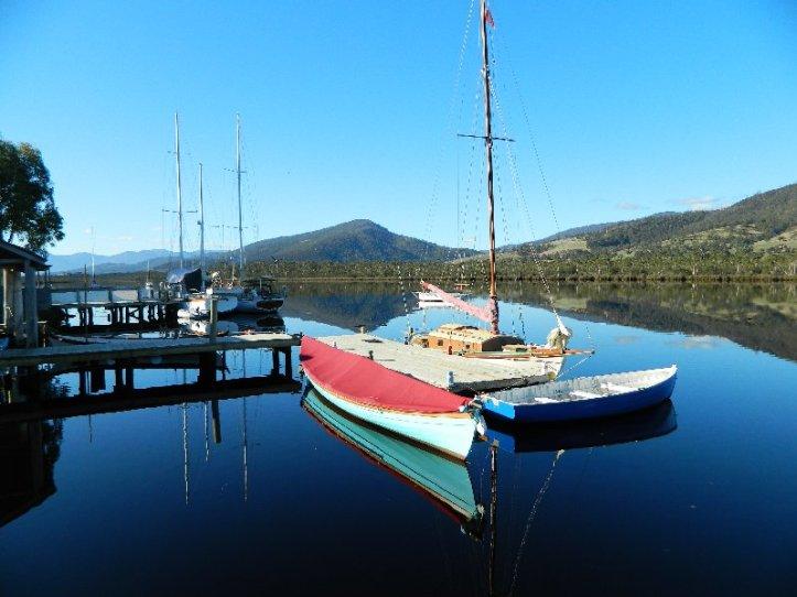 Huon River at Franklin, Tasmania