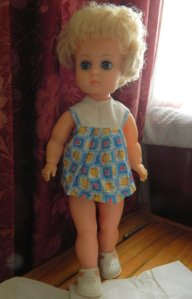 image dressed vinyl doll
