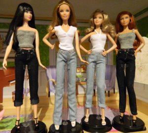 My four new girls Nicola, Belinda, April and Amy.