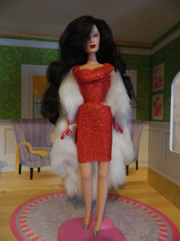 Red Hot Charice from the Fabulous Fur Collection
