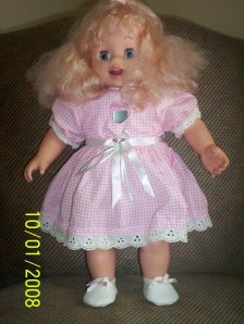 Amazing Amy the hypochondriac doll