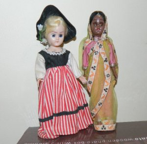 These two I bought later but they are very similar to the ones I had as a child.