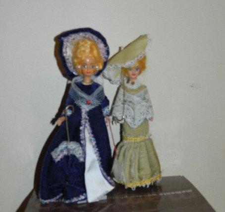 Lady Hamilton and a friend.