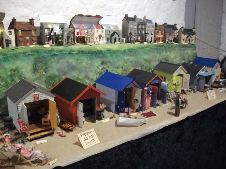 Chalets on the beach Hobart Dolls House & Miniature Show 2012