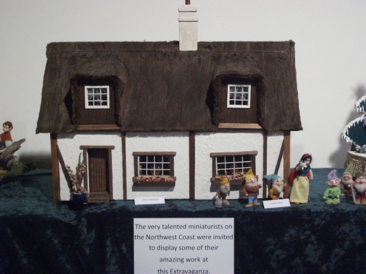 Pretty cottage dolls house and miniature show 2012
