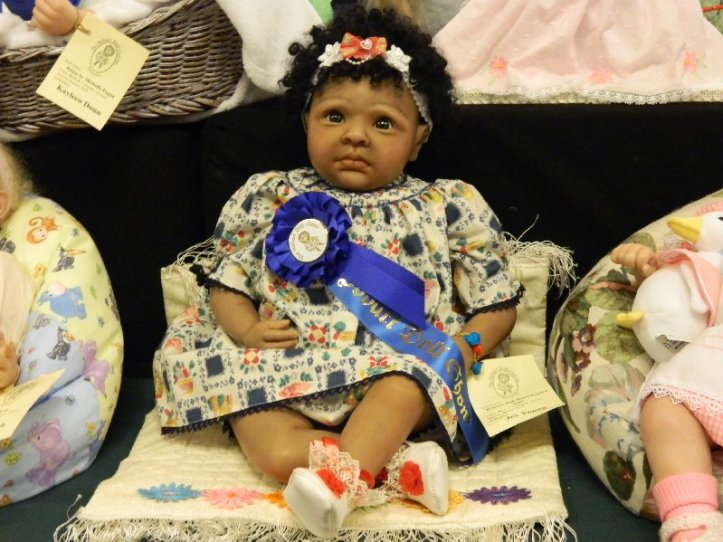 Prize winner in the Toddler category.