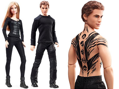 Divergent Four with Tattoos