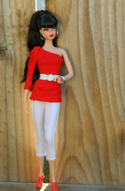 Barbie Basics the Target Exclusive Red Collection 03