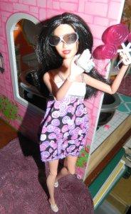 Marissa wears the Lollipop dress