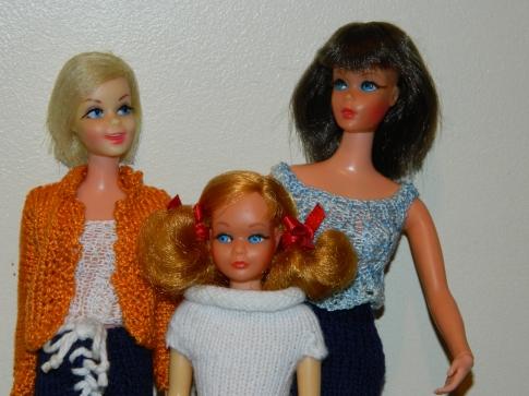 Casey, Living Barbie and Living Skipper