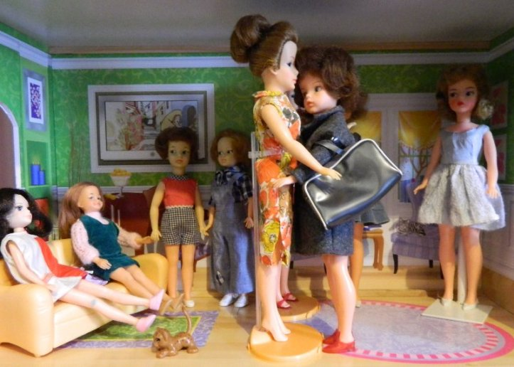 The Tammy Family are expecting guests for Christmas. English cousin Sindy is the first to arrive.