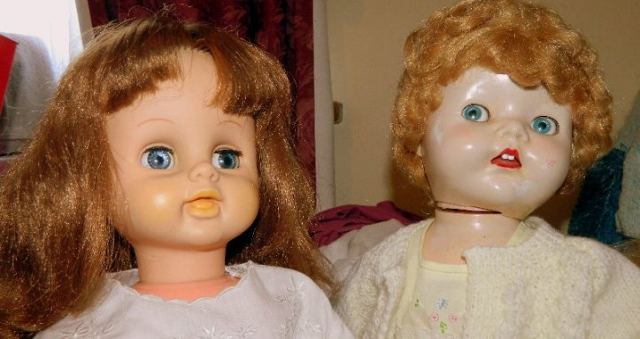 walking dolls from the 1960's