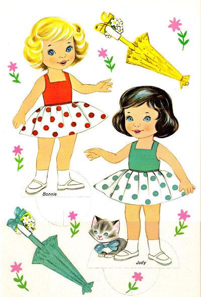 "Saalfield ""Best Friends"" courtesy of free-paper-dolls.com"