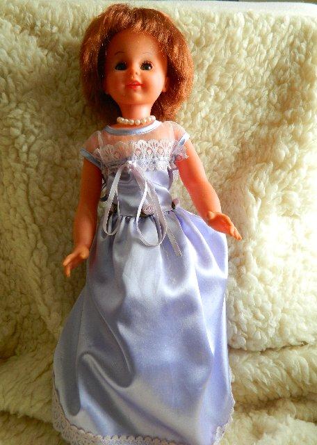 Hard plastic mystery doll