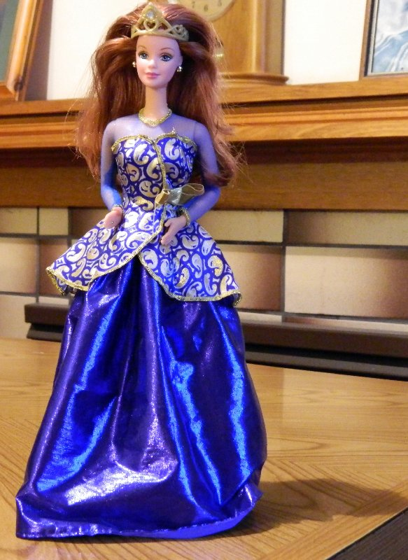Portrait in Blue Barbie 1997