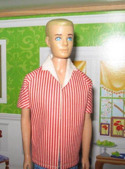 Ken in his original beach shirt.