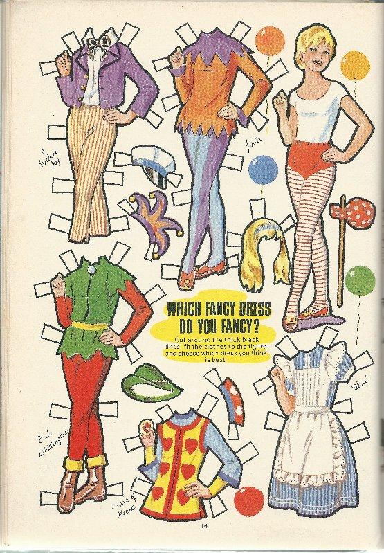 Fancy Dress costumes for Bunty.
