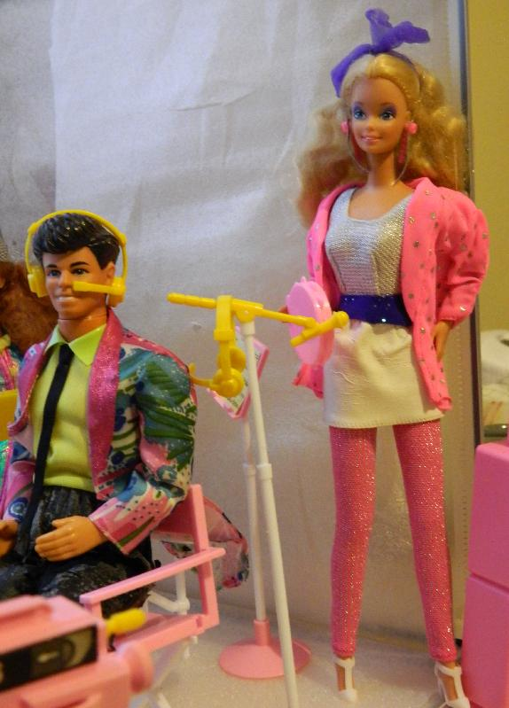 Barbie of Barbie and the Rockers with Derek