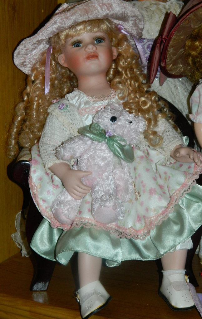 Doll that Hubby bought me for Xmas one year.