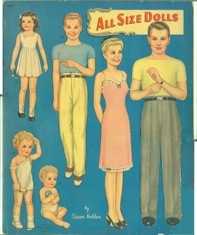 All Size Dolls 1945 designed by Queen Holden