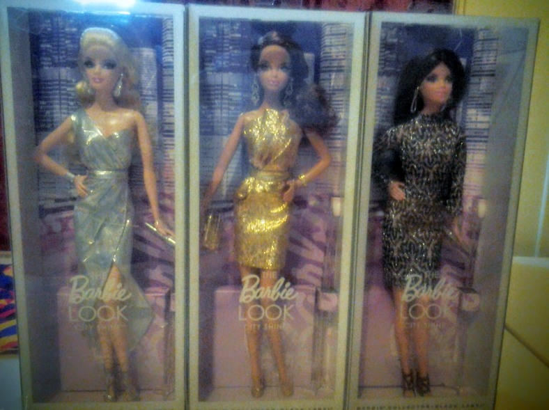 3 Barbie City Style